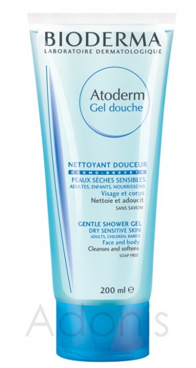 Bioderma Atoderm душ гел 200мл