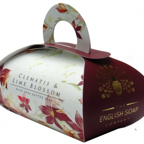 The English Soap Company Сапун Клематис и Лайм