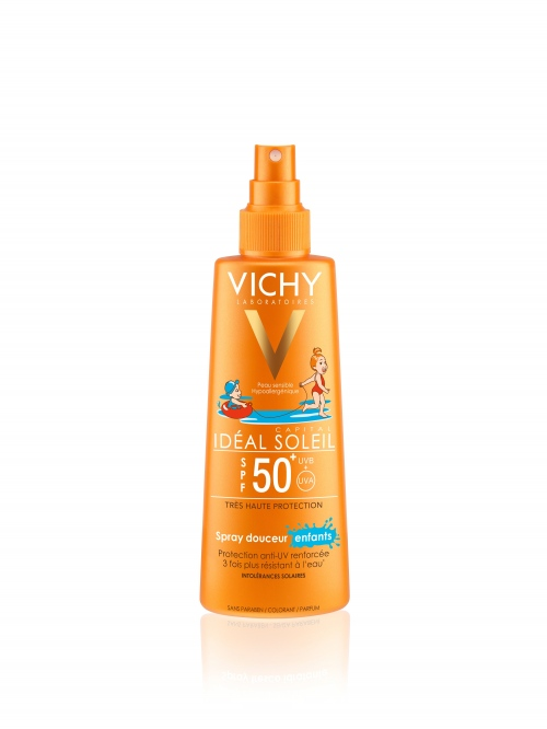Vichy Ideal Soleil спрей за тяло SPF50+ 200 мл
