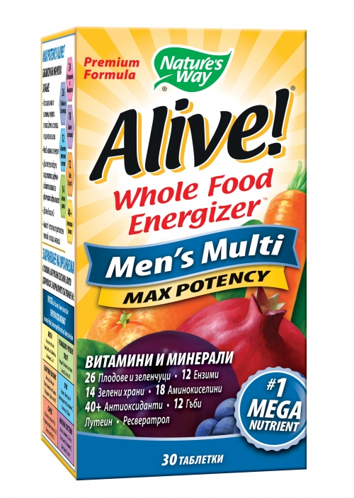 Nature\'s Way Alive Мултивитамини за мъже