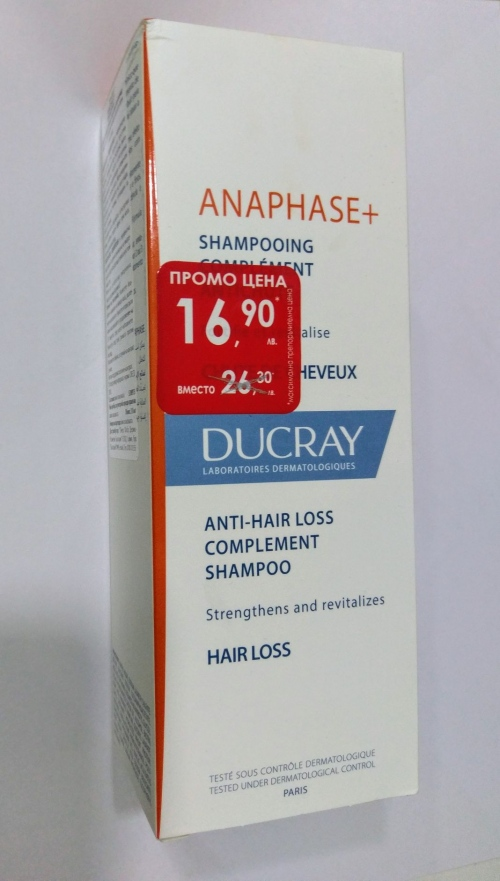 Ducray Anaphase Шампоан Против Косопад 200мл